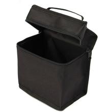 30/40/60/80/168 Pcs Markers Massive Capacity Zipper Black Folding Art Markers Zipper Canvas Storage Pencil Bag