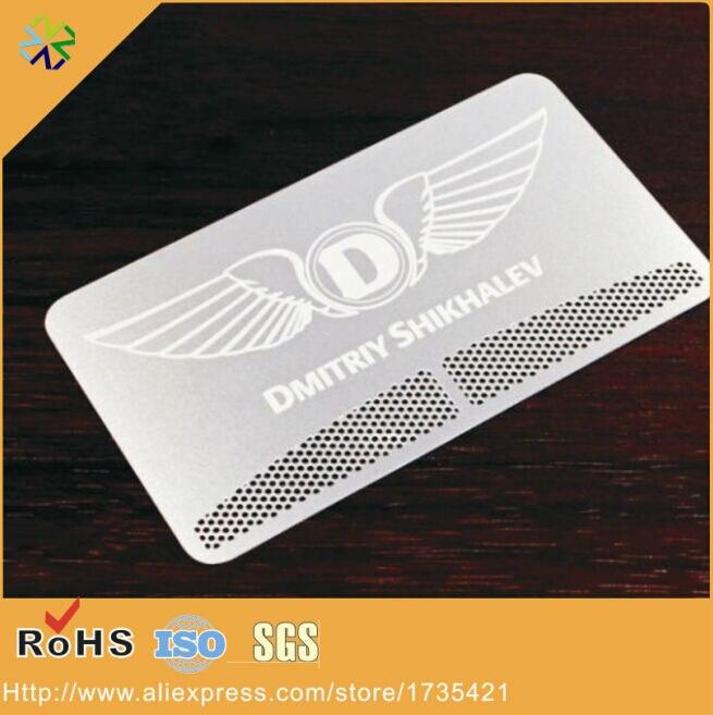 2016 новый дизайн (250 шт./лот) логотип на заказ/слова/логотип визитная карточка из высококачественной нержавеющей стали