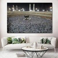 Non encadre mode islamique decoratif toile peintures a lhuile musulman toile affiche imprime photos moderne Quadro decoration de la maison