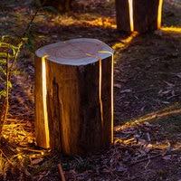 CE imitation tree stump lamp creative landscape lighting park garden backyard path lawn light