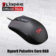 Kingston hyperx pulsefire fps jogo profissional mouse pulsefire impulso rgb e núcleo pulsefire