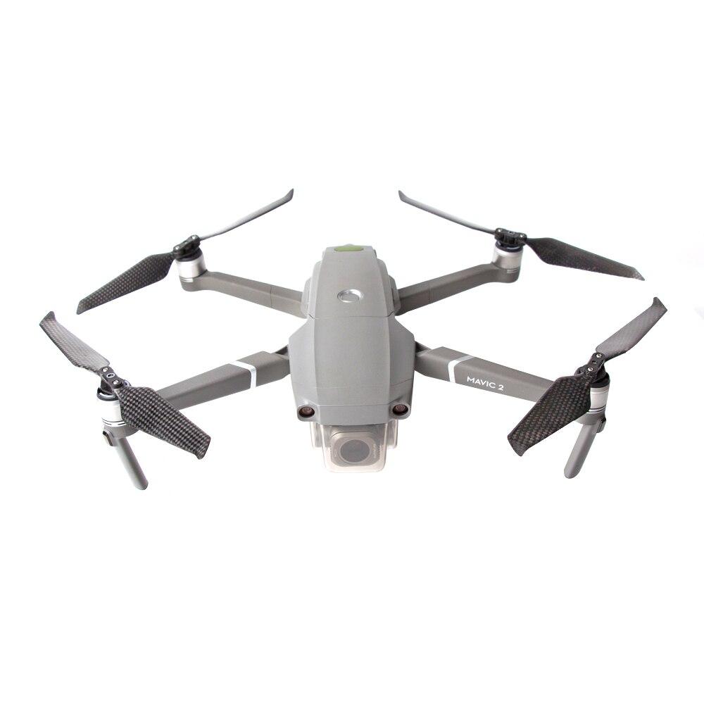 CF hélices 8743F bajo ruido de liberación rápida plegable de fibra de carbono cuchillas apoyos para DJI Mavic 2 Pro/Mavic 2 Zoom Drone partes