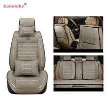 Kalaisike-housses de siège de voiture universelles en lin, pour grand mur, pour tous les modèles Tengyi C30 C50 Hover H3 H6 H5, coussin dauto