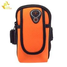 5.5 pouces en cours dexécution sac de Sport étanche Fitness Sport bras sacs couverture Mini coque de téléphone gymnastique entraînement course ceinture sac pour votre téléphone