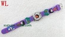 15 stks/partij gemengde groothandel hot sales hoge kwaliteit 3D cartoon Dora kids meisjes studenten verjaardagscadeaus quartz siliconen horloge