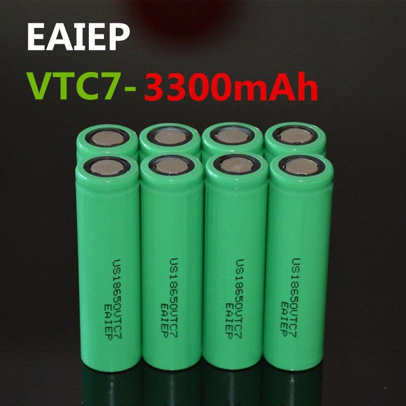 EAIEP VTC7 3,7 v 3300 mah lithium-akku 18650 EAIEP US18650VTC7 elektronische spielzeug werkzeug-