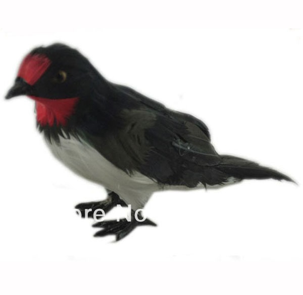 free shipping small decoration resin bird feathered bird decoration hunting bird decoy