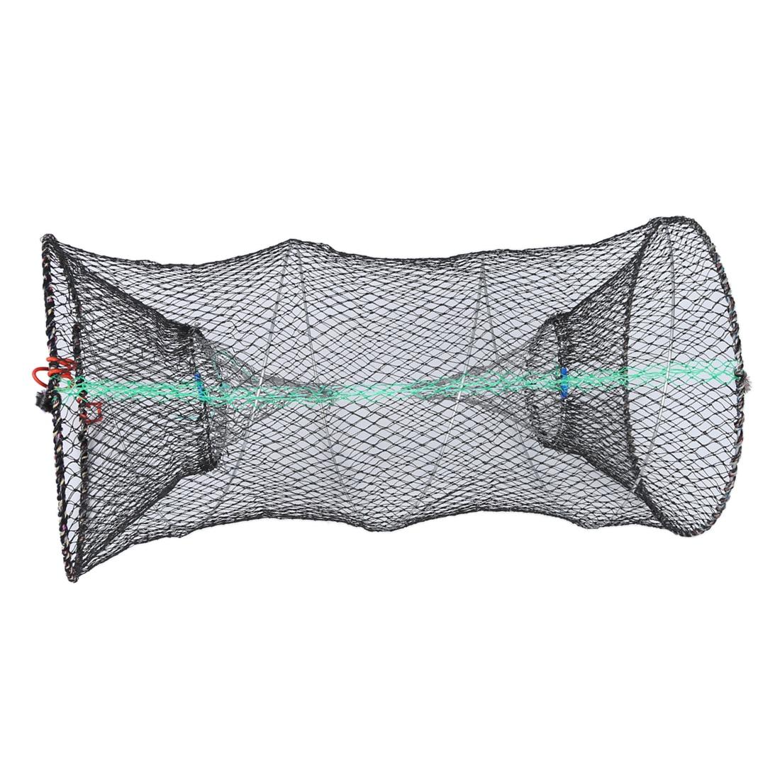 Омар Краб Раки креветки Ловушка клетка рыболовная сеть черный
