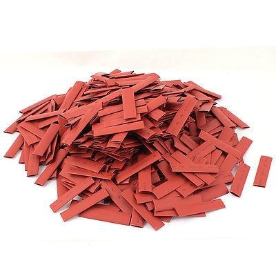 500 قطع 7 ملليمتر ديا 50 ملليمتر 2:1 أنابيب البولي سلك التفاف كم طويل الأحمر