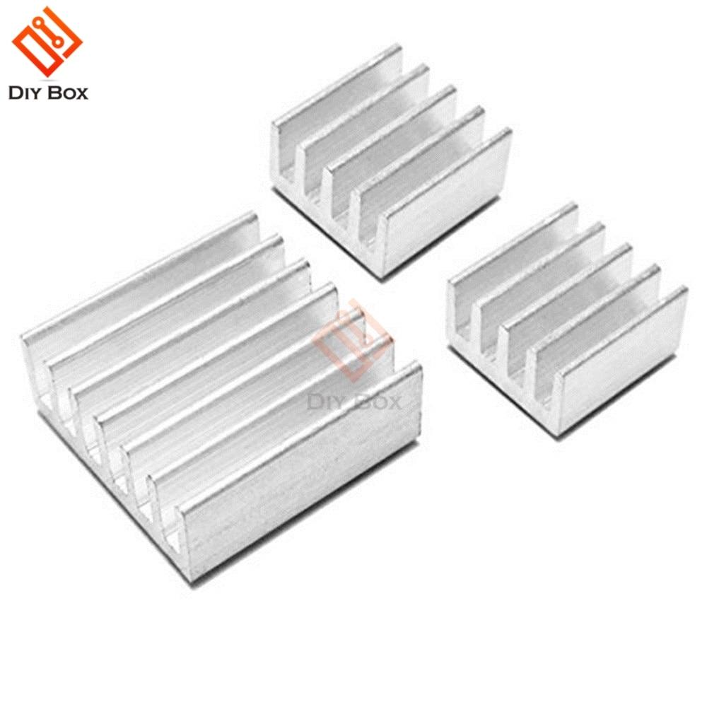 3PCS One Set Aluminum Heatsink Cooler Adhesive Kit for Cool Raspberry Pi