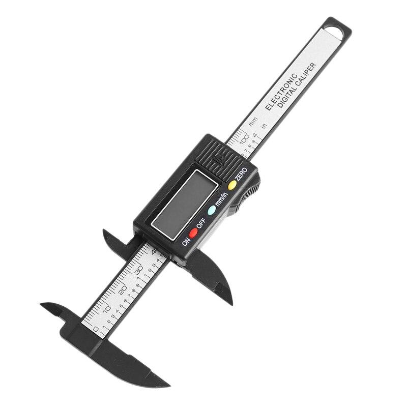 LCD Elektronische Digitale Messschieber Messschieber 100mm 4 zoll Messen Mikrometer Neue-Y103