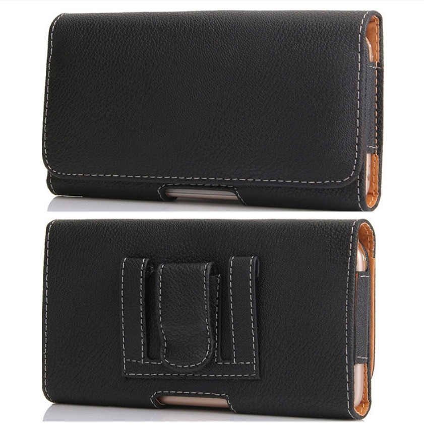 Универсальный чехол для смартфона, тонкий Зажим для карт, чехол для мобильного телефона, черный кожаный чехол для iphone/Samsung/Huawei
