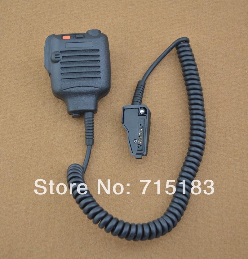Micrófono externo de altavoz KMC-25 micrófono de hombro para Kenwood NX320 TK190, TK380, TK390, TK480, TK2140, TK2180... TK3148