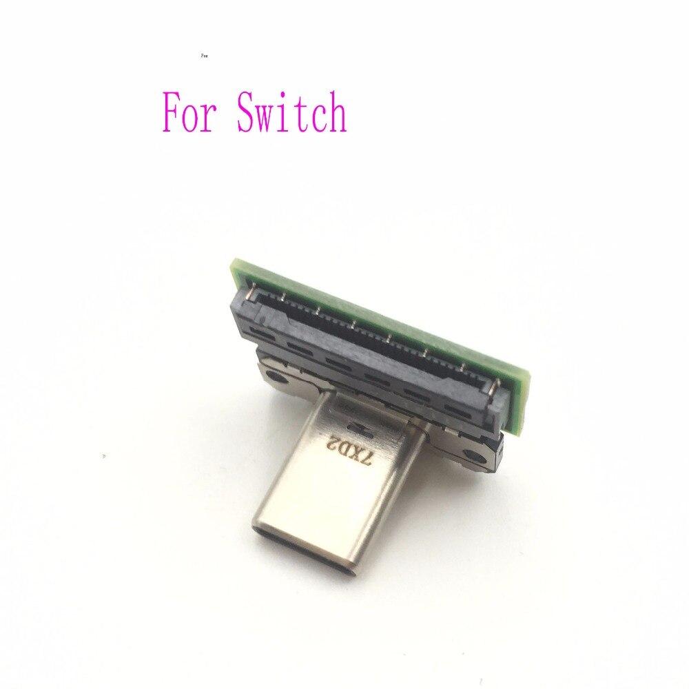 HDMI stacja dokująca dla Nintendo przełącznik NS NX konsola do gier typu C gniazdo złącza dokująca do wymiana naprawa części
