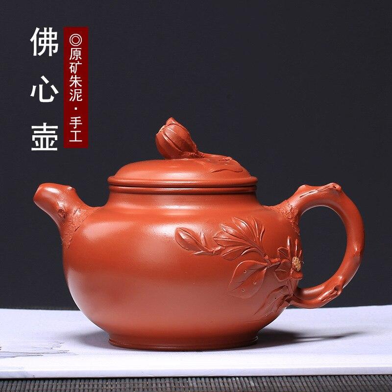 Tetera de arcilla púrpura Zhuni Foxin tetera fabricante de agente de ventas directo artesano Wang Zhenxue tetera de alta calidad
