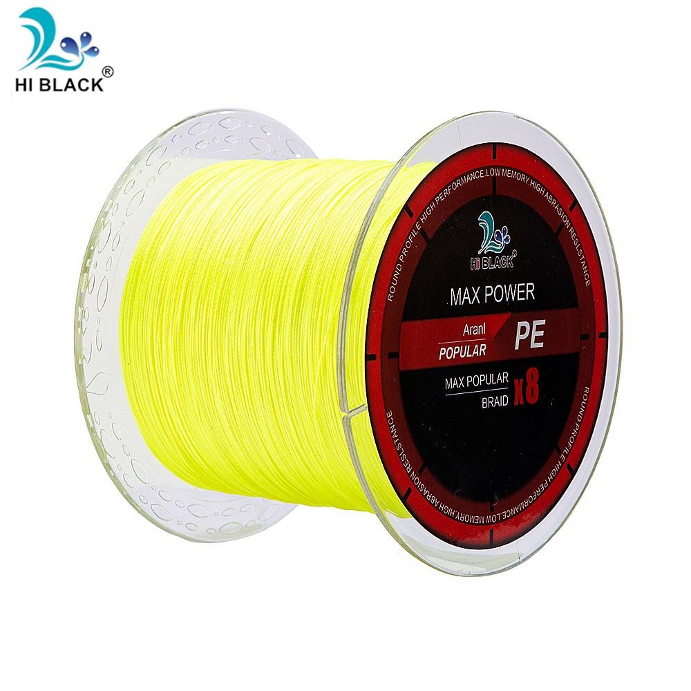 Nuevo sedal de pesca de 1000 M, cinco colores para elegir, 100% japonés, PE, tejido, Sedal 16LB-120LB