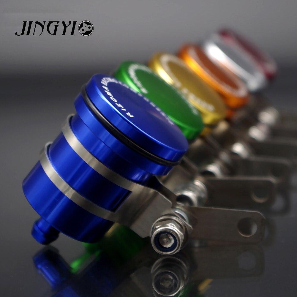 Motorcycle Brake Fluid Reservoir Clutch Cylinder Tank Oil Fluid Cup For ZZR 400 SUZUKI HONDA HORNET 600 TTR KAYO YAMAHA XT 660