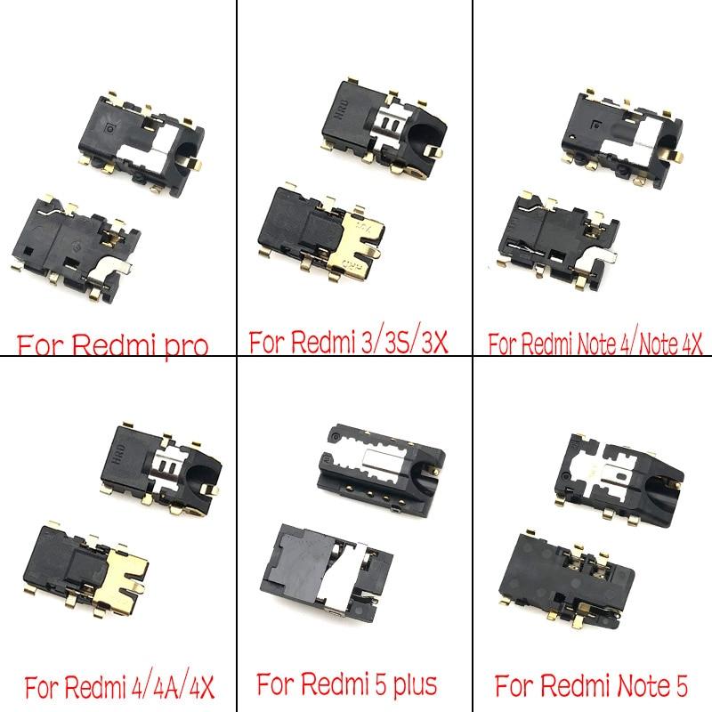 2 шт./лот разъем для наушников аудио гибкий для Xiaomi Redmi 3S 3X 4A 5 5A 6A Note 2 3 4 4X 5 5A 7 8 Pro K20 Mi 9T