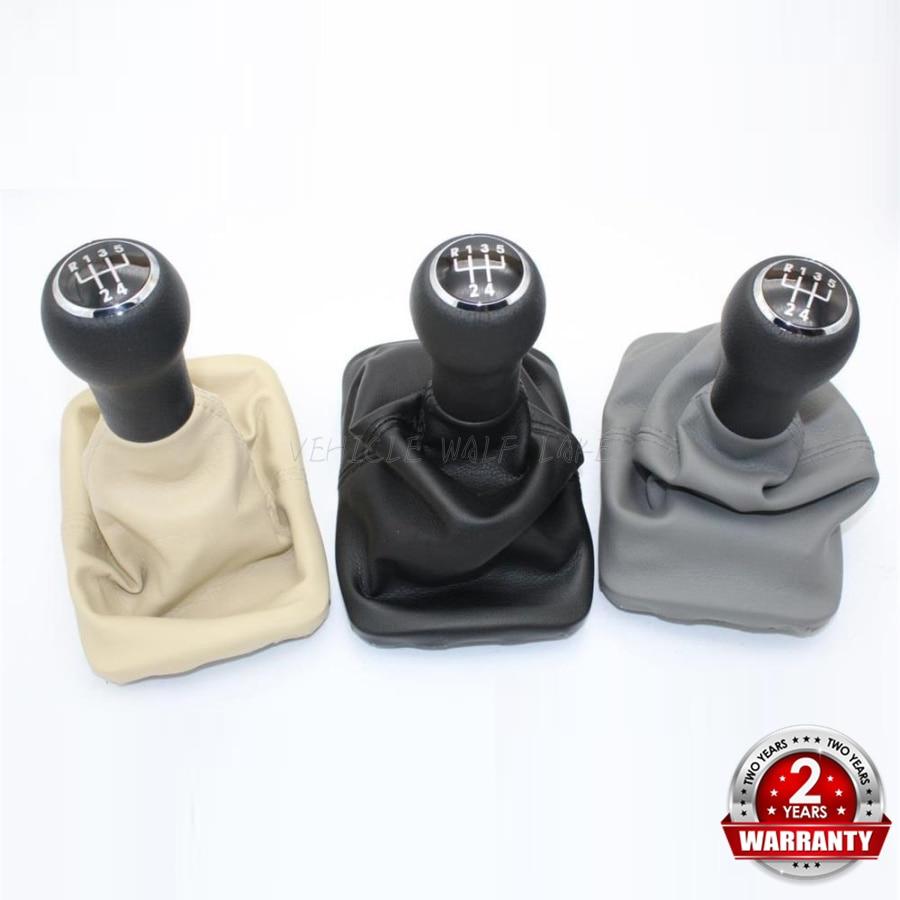 Dla VW Beetle 1998 1999 2000 2001 2002 2003 2004 2005 2006 2007 2008 2009 2010 nowy 5 skrzynia biegów gałka dźwigni zmiany biegów skórzane buty