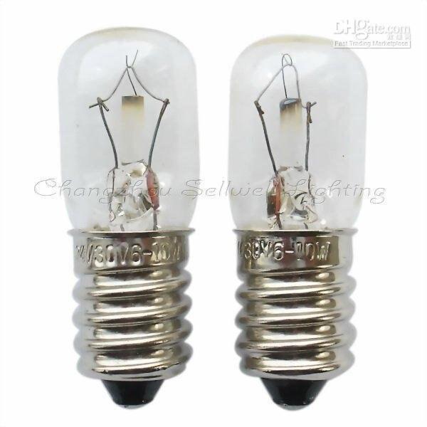 GOOD!miniature lamps lighting e14 t16x44 24v/30v 6w/10w A368