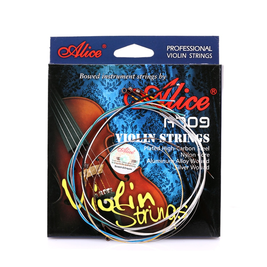 Alice A709 Professional Violin Strings Bowed Instrument Strings 5-string Set E-a E-b A D G enlarge