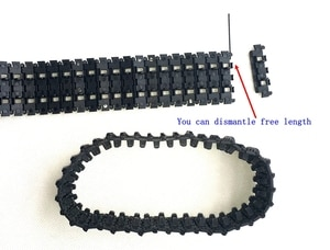 Official smarian Tank track 1:16 RC tank German Panther G 3879 track-type remote control tank accessories plastic track