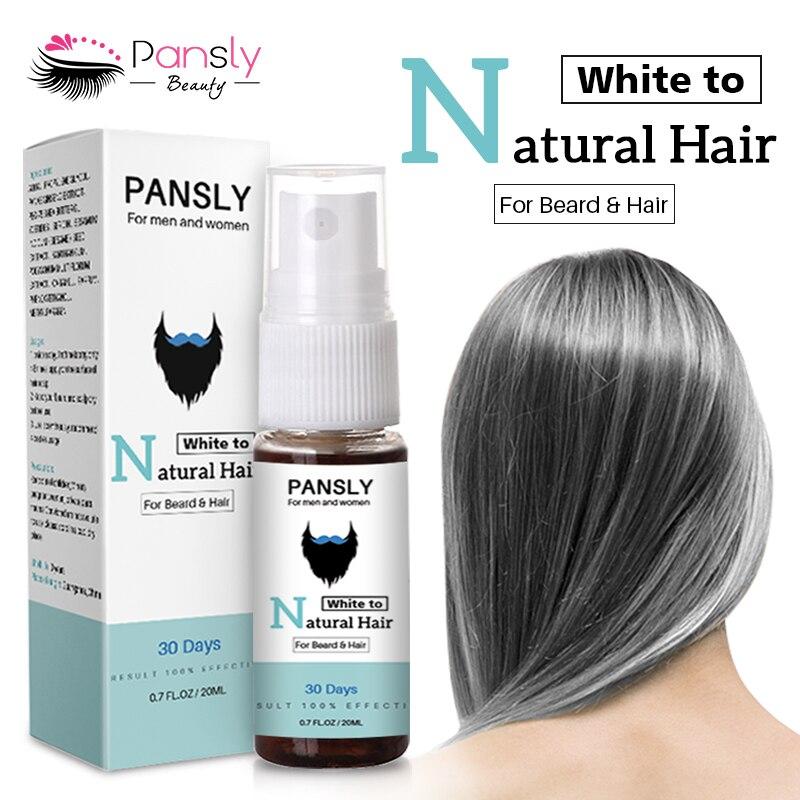 20ml 100% Beard Oil Hair Loss Products Beard Hair Growth Spray Moisturizing Repair Organic Essence Oil Hot Sale TSLM1