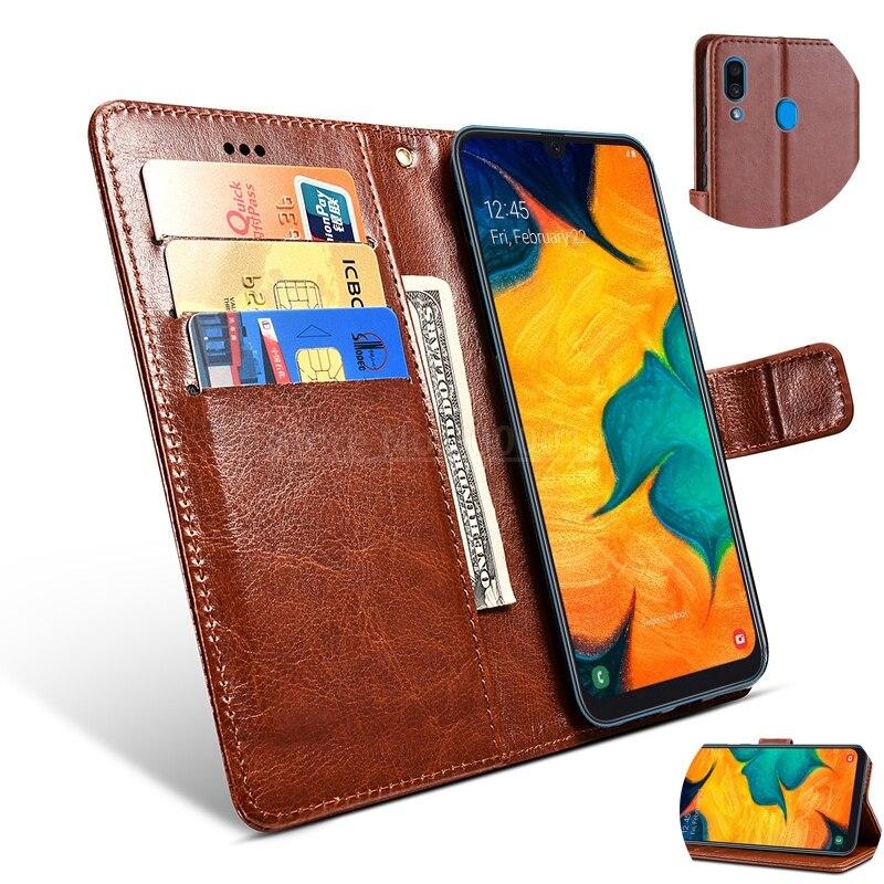 Flip Coque funda para Samsung Galaxy A3 A5 A6 A7 A8 A9...