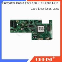 FORMATTER PCA ASSY Formatter Board logic Main Board Mother Board for Epson L100 L101 L200 L210 L300 L455 L475 L555 L565 printer