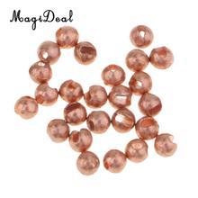 25 pcs/lot perles de tungstène fendues mouche attachant perles Jig crochets lourd nymphe tête mouche attachant matériaux 2mm 2.5mm 3mm 3.5mm 4mm