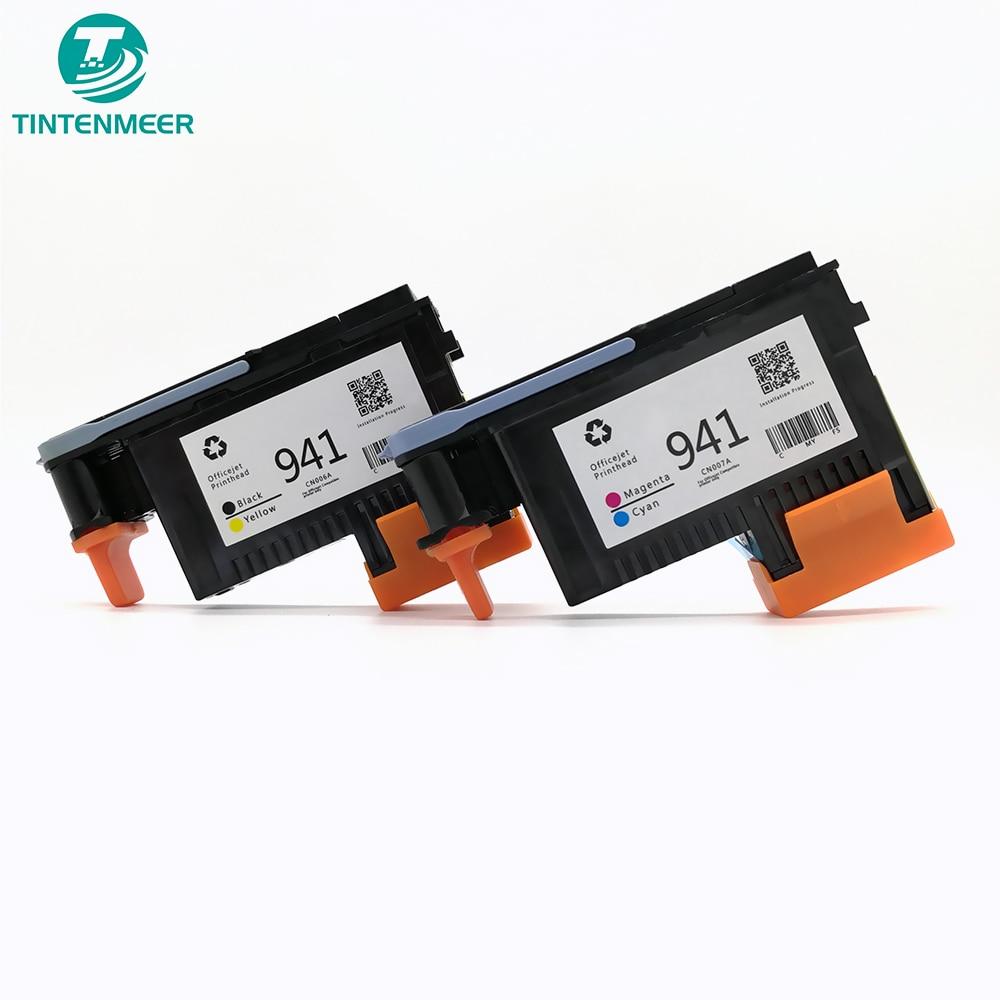 Tête dimpression TINTENMEER CN006 CN007 livraison gratuite dans le monde entier tête dimpression 941 Compatible pour hp Officejet Pro 8000 8500 imprimante