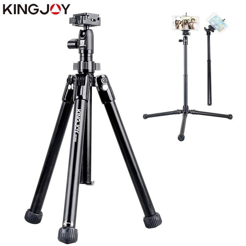 KINGJOY, minitrípode oficial SC056 Para cámara con palo Selfie, trípode Para teléfono móvil, trípode Para móvil