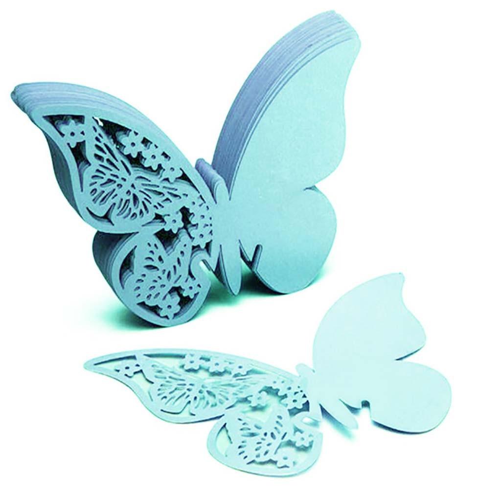 Insumos para decoración de boda papel mariposa copa de vino tarjeta decoración de fiesta boda novia a ser despedida de soltera boda