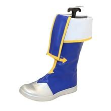 Brdwn BlazBlue hombres Jin Kisaragi Cosplay botas medias zapatos planos personalizados