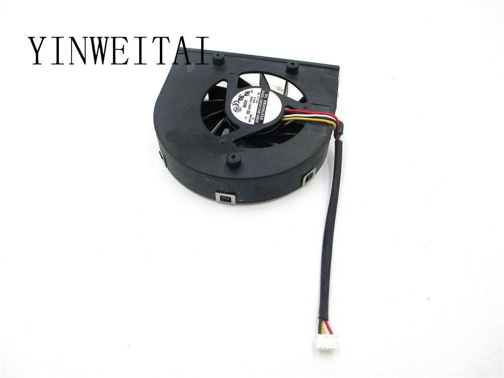 Free shipping For ADDA AB06812HB14BB00 Aopen DE5100 DC 12V 0.35A 4-wire 4-pin Server Laptop Fan. emacro fcn dfs501105pq0t fcbq dc 5v 0 5a 4 wire 4 pin 70mm server blower fan