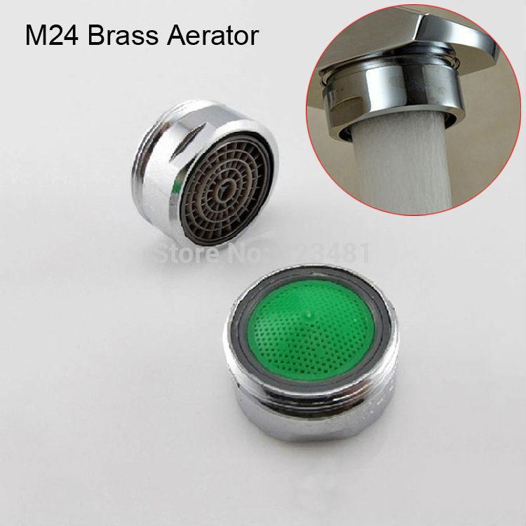 Завод M28 M24 M22 латунный аэратор для смесителя хромированный Мужской 24 мм Женский 22 мм Головка фильтра для крана аксессуары