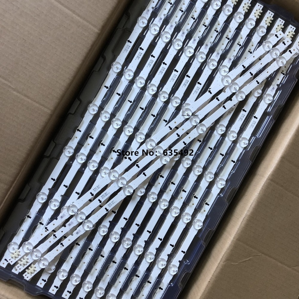 """650mm LED de retroiluminación 7leds para Samsung 32 """"TV 2014SVS32HD LM41-00099M LM41-00041L D4GE-320DC0-R3 HH032AGH-R1 HG32AC670AJ"""