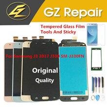 Original pour Samsung Galaxy J3 2017 J330 SM-J330 J330FN SM-J330 SM-J330FN écran LCD + capteur tactile verre numériseur avec des Kits