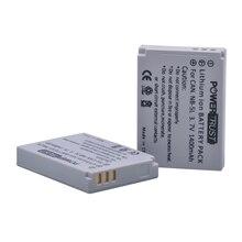 2X1400 Mah NB-5L Nb 5L NB5L Camera Batterij Voor Canon S110 SX200 SX210 SX220 SX230 Is Hs Ixus 850 870 800 860 990 Sd 950 970