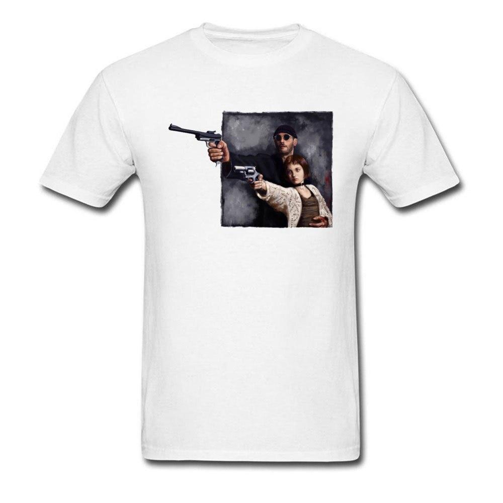 Футболка с персонажем из фильма, Мужская футболка на заказ, Leon The Professional Killer Mathilda с 3D принтом, Топы И Футболки для влюбленных, футболки