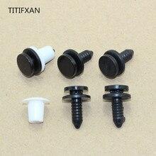 TITIFXAN pilier avant B agrafe de garniture   10 pièces, colonne de pression, convient pour Volkswagen Passat B5 wave Luo Mingrui