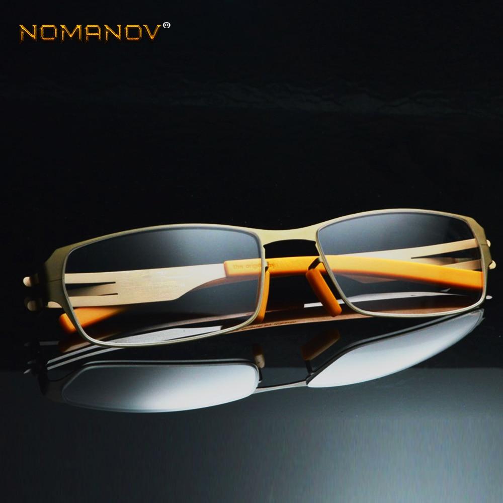 Без припоя, без винта, Ультралегкая оправа, на заказ, оптические очки для близорукости, фотохромные-от 1 до 6