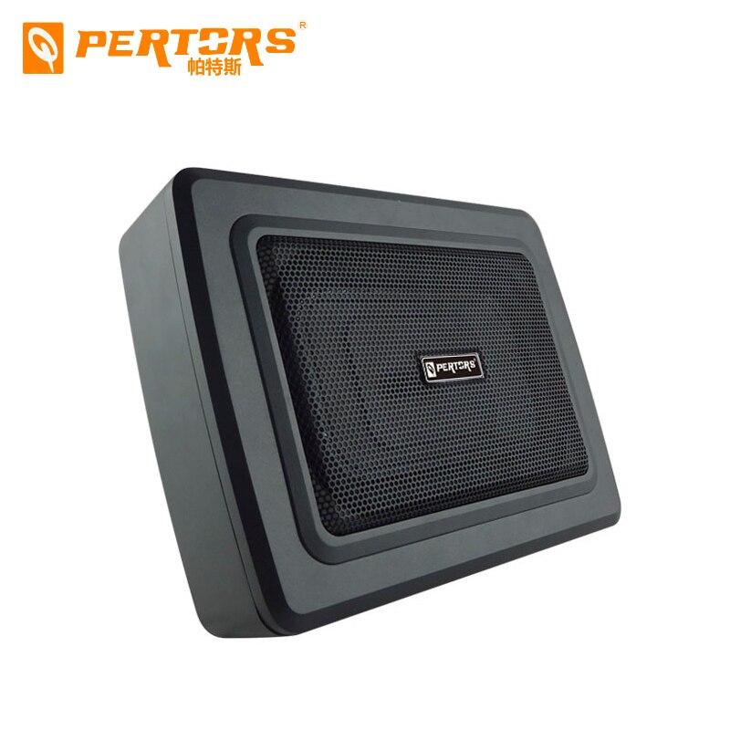 Subwoofer activo de gran oferta bajo el asiento de coche Bass Nuevo Audio de 8 pulgadas activo de alta potencia Subwoofer de coche máxima potencia 600w Subwoofers