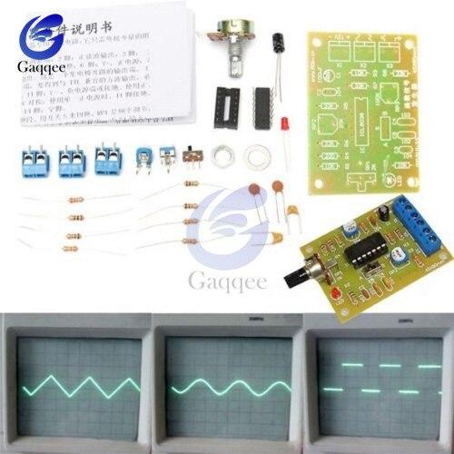 ICL8038 монолитная функция генератор сигналов модуль DIY Kit синус квадратный треугольник 50-5 кГц 12 В DC