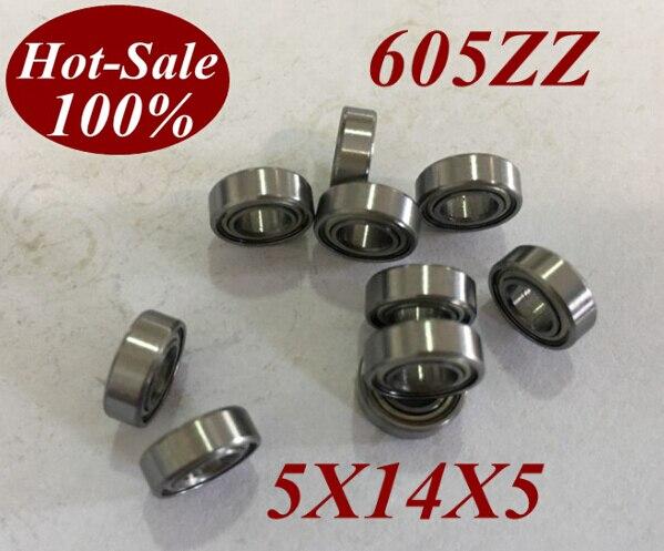 2 Stücke ABEC-5 Hohe Qualität Miniatur Kugellager 605ZZ 605Z 605 ZZ 605-ZZ 5x14x5 MM 5*14*5 MM Für NSK FAG NTN SKF KOYO maschine