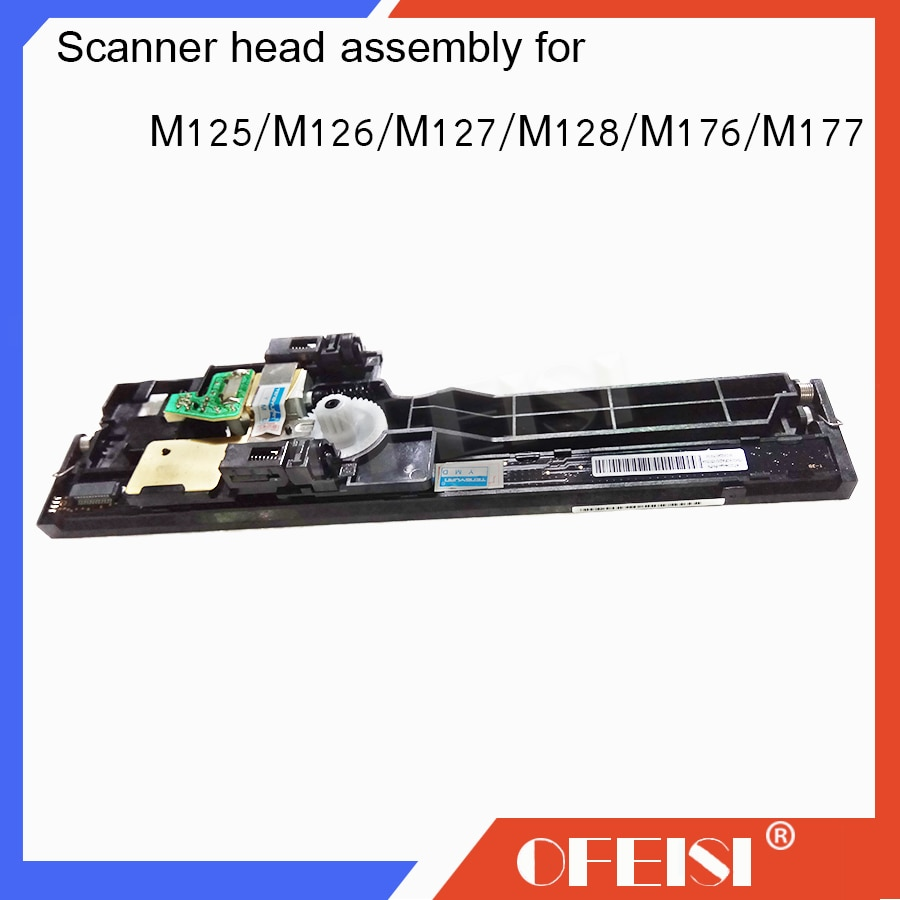 Nuevo ensamblaje original de la cabeza del escáner CZ181-40012 para HP laserjet MFP M125A/M125NW/M126/M128/M127FN/ piezas de impresora FP/FW/M176/M177