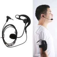 Hot New 1 Pc Referee Earphone Hook Bluetooth V4/V6/FBIM Interphone Sports Armband Interphone High Quality