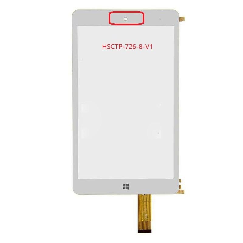 Новый 8-дюймовый дигитайзер сенсорный экран панель Стекло HSCTP-726-8-V1 HSCTP-489-8 Бесплатная доставка