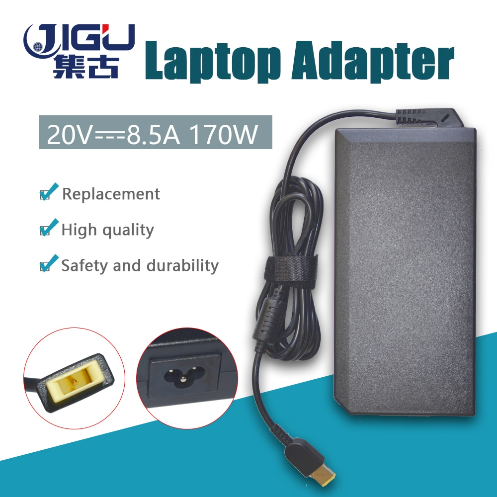 JIGU 20V 8,5 EINE FANKOU Laptop Ladegerät AC Adapter Power Für LENOVO Legion Y720 Für Thinkpad P50 P70 T440p t540 T540p W540 W541