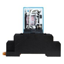 Relais de puissance de bobine à ca 220V 10A DPDT LY2NJ HH62P HHC68A-2Z avec la Base de prise 8 broches